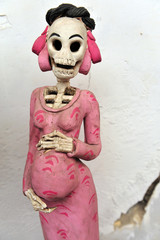 Mexican folklore skeletons