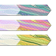 Colored bookmarks.
