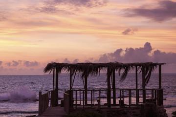 Tongan sunset - Eua Island