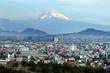 Leinwanddruck Bild - Mexico City Landscape