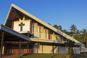 Catholic Cathedral in Port Vila, Vanuatu