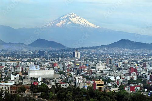 Foto op Canvas Mexico Mexico City Landscape