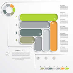 Infographic template, design for your project