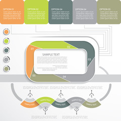 Infographic template, design for your presentation