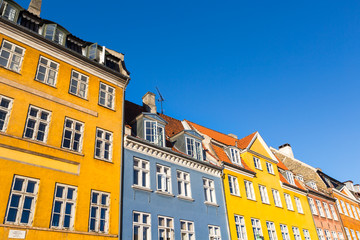 Traditional architecture in Copenhagen, Denmark.