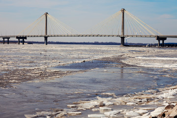 Clark Bridge in Alton, Illinois