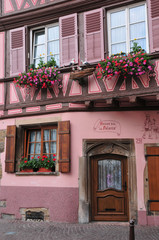 Haut Rhin, the picturesque city of Colmar in Alsace