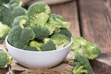 Bowl with fresh Broccoli