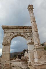 Antonine Nymphaeum in Sagalassos Ancient City in Burdur.