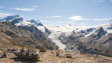 Zermatt, Findelgletscher, Cima di Jazzi, Alpen, Wallis, Schweiz