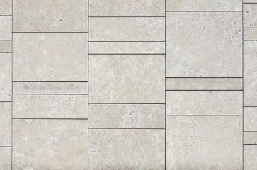 Wand aus Natur Stein; Hintergrund  leer, grau