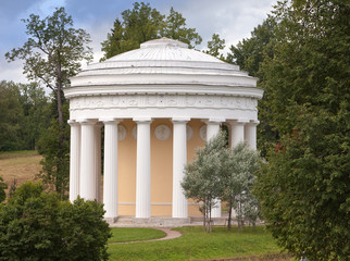Russia. Pavlovsk. Pavilion Friendship Temple.