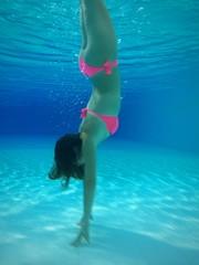 nell'acqua