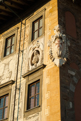 Palazzo della Carovana, Scuola normale superiore, stemma di Pisa
