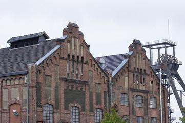 Maschinenhaus der Zeche Radpod in Hamm, Deutschland