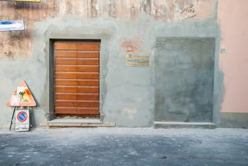 Porta murata, edilizia, restauro