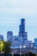 Chicago skyline, Illinois, USA