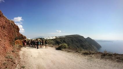 in trekking con la scuola