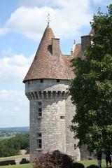 Tour ouest château de Monbazillac