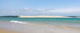 Fototapety Vue panoramique sur la dune du pilat. Bassin d'arcachon