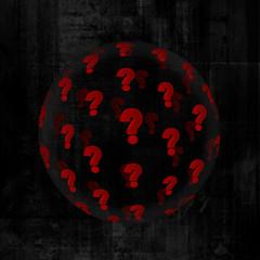 question sphere dark 1