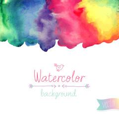 Vector Watercolor background.