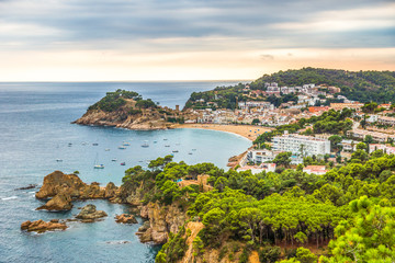 Tossa de Mar, Spanien