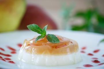 dairy dessert panna cotta