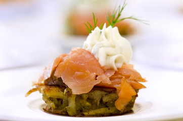 Fingerfood Lachs