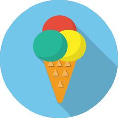 Vector ice cream icon