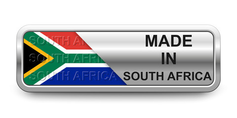 Made in South Africa Button