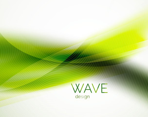 Unusual blur wave abstract background