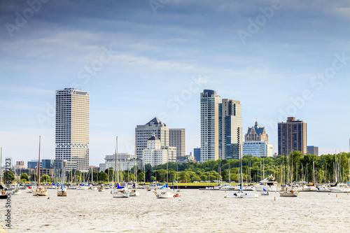Milwaukee skyline, Wisconsin, USA - 69992123