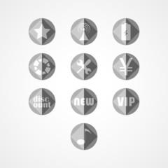 set concept web icon