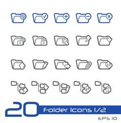 Folder Icons - 1 of 2 -- Line Series