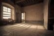 canvas print picture - Salone del castello di Roddi