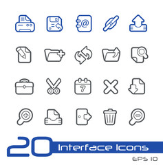Web Icons -- Line Series