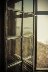 Riflessi sulla finestra