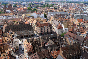 View of Strasbourg, France