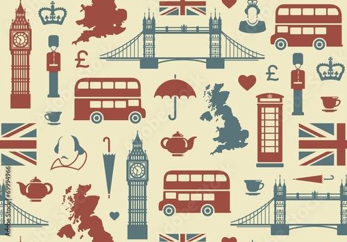 Tapeta England background