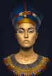 Leinwanddruck Bild - Beauty shot in Egyptian style