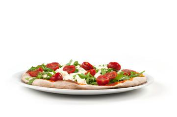 la pizza alla rucola