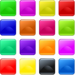 Colorful Gel Buttons