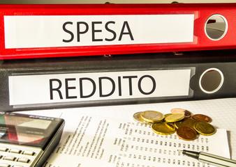 Spesa Reddito (contabilità, impresa)