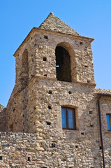 Franciscan monastery. Rocca Imperiale. Calabria. Italy.