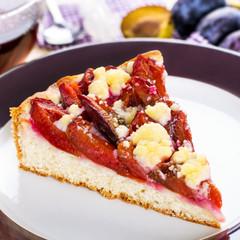 Zwetschgendatschi - plum cake