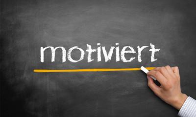 motiviert
