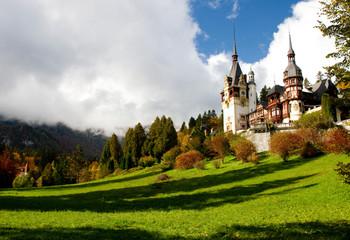 Romania King Carol Palace called Peles from Sinaia.