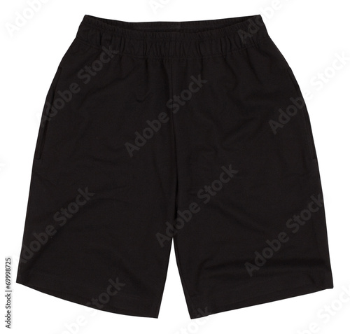 canvas print picture Sport shorts. Isolated on white background.