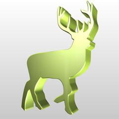 Logo 3D cervo